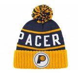 2017ブルーグレーの刺繍のロゴの冬によって編まれる帽子の帽子