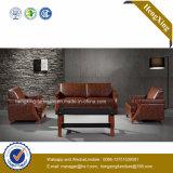Sofá moderno do escritório do sofá do couro genuíno de mobília de escritório (HX-CF020)