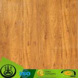 木製の穀物のペーパーの床の装飾的なペーパー