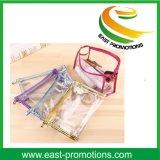 PVC 명확한 투명한 방수 형식 여행 화장품 부대