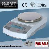 ISO 승인되는 전자 가늠자 쉬운 무게를 달기 (600g*0.01g)