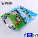 Levántate Ziplock bolsa de embalaje de plástico para picar alimentos