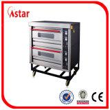 Astarの2電気によって動力を与えられるデッキ4の皿が付いている専門のパン屋オーブン