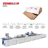 Máquinas de impresión offset bolsa de papel de la parte inferior de la máquina de encolado de cartón con Zb50s
