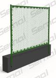 Cerca usada revestida PVC galvanizada da ligação Chain para a venda