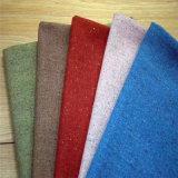 Tela para la ropa, tela de la franela, tela del juego, tela de la ropa, tela de las lanas de Colorpoints de materia textil