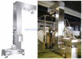 Transportador Vertical tipo Z elevador de cucharón de apoyar el uso de la máquina de embalaje