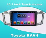 Toyota RAV4를 위한 인조 인간 시스템 차 DVD GPS 항법 Bluetooth MP3/MP4를 가진 10.1 인치 접촉 스크린