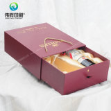 2017 Latest Deluxe Fancy Paper Packaging Box Printing para vinho