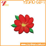 Correção de programa bonito Yb-HD-158 do bordado da forma do logotipo de Customed