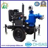 Geöffnete Antreiber-Abwasser-selbstansaugende Schlussteil-Diesel-Pumpe