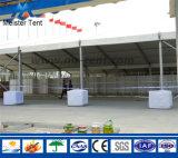 Tienda al aire libre blanca grande de la exposición con la tela del PVC para el partido