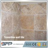 Подгонянная плитки травертина размеров плитка стены кухни бежевой декоративная