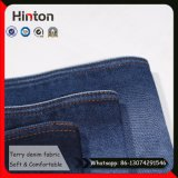 Rek niet Terry Denim Fabric 12 Oz Dik Jean Fabric