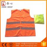 Gelbe u. orange reflektierende Sicherheit bekleidet (CC-V01)