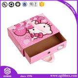 Cute Kitty enfants regarder Apparel Pcakaging Boîte de Papier de cadeau