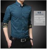 Business Casual hombre manga larga camisa de vestir camisa uniforme