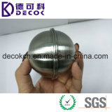 bola del acero inoxidable de 45m m 65m m 55m m media para el fabricante de la torta del molde de la bomba del baño