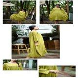 Alineadas de lino de las mujeres de la alineada de las mujeres del traje del otoño más talla