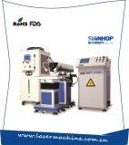 Machine de soudure automatique de tache laser de moule métallique de batterie de fibre