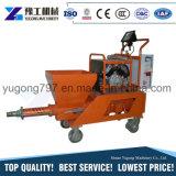 Yg vitesse rapide de la machine de pulvérisation de mortier de ciment Mur pulvérisateur de plâtrage
