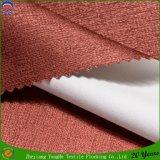 Tissu enduit tissé de rideau en arrêt total de Wateroroof franc de passage du polyester 3 pour l'hôtel