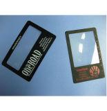Kundenspezifisches rechteckiges Kreditkarte-Vergrößerungsglas des Visitenkarte-Vergrößerungsglas-3X