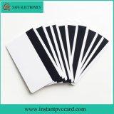 Carte par la carte de crédit normale de PVC de piste magnétique de jet d'encre de taille