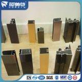 Perfil de Aluminio de Color Brillante de Electrofesis para Ventana y Puerta