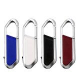 Keychain 로고를 가진 가죽 USB 섬광 드라이브 등반자 선물