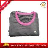 Camisola de pescoço de algodão de manga comprida de algodão Mulheres Homewear Lady Pajama