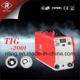 Máquina de soldadura Tigwelder do TIG do inversor da C.C. do arco (TIG-140D/160D/200D)