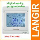 Thermoregulator Screen-Heizungs-Thermostat für warmen Fußboden, Wasser, Öl-Gas-Dampfkessel-Heizsystem-Thermostat E91