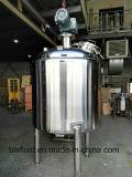 Pavimentação de aquecimento em aço inoxidável, vaso de misturador líquido