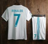 futebol Home branco real Jersey de Jersey Benzema da qualidade 2017 2018 superior para ventiladores de Madrid