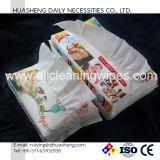 Tecido facial não tecido de algodão para uso do bebê, uso de limpeza de pele