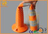 A compressão elevada resiste o borne de advertência flexível de 75cm T-Tope