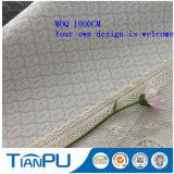 Tissu 100% de coutil de matelas de Knit de polyester