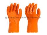 Перчатки 910 работы перчаток PVC нового типа противоскользительные