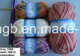 Der Wolle-16s/12 (T008) mit der Hand stricken Acrylmischungs-fantastisches Garn