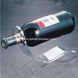 Tabletop Flaschen-Bildschirmanzeige-Chrom-Flaschen-Zahnstangen-Wein-Bildschirmanzeige Btr-D2162