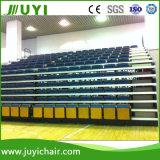 Magnifique système de sièges télescopique Fodable Bleacher rétractable avec accoudoirs bois Jy-780