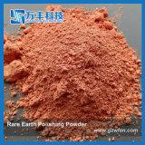 Pó de lixo vermelho da Terra Rare com D50 0,6 Micron