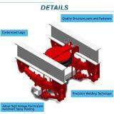 ثقيلة - واجب رسم شاحنة مقطورة منخفضة سرير تعليق