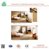 Großhandelshotel-modernes Möbel-Eisen-hölzernes Schlafzimmer-Set