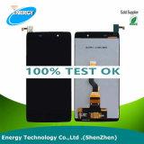Экран касания индикации LCD цены по прейскуранту завода-изготовителя для агрегата экрана касания Alcatel Ldol 3 6039 LCD вполне для Alcatel