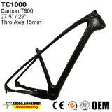 marco de la bicicleta de la montaña de la fibra del carbón de la rueda 15inch 19inch de 27.5er 29er