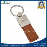 Promoção PU Leather Keychain com logotipo personalizado