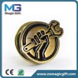 Pin del risvolto del metallo personalizzato vendite superiori con bronzo antico rifinito
