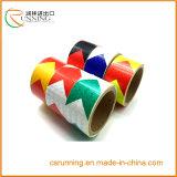 Sicherheits-Produkt-Aufkleber-Pfeil-Muster Belüftung-reflektierendes Band